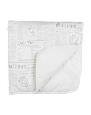 Одеяльце для младенцев JOHN GALLIANO. Цвет: белый