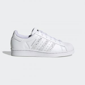 Кроссовки Superstar Originals adidas. Цвет: белый