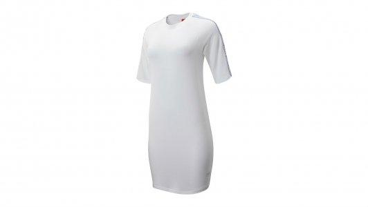 Платья NB ATHLETICS N PACK DRESS New Balance. Цвет: белый