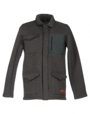 Куртка IUTER. Цвет: зеленый-милитари