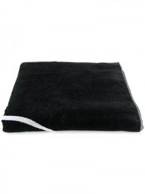 Пляжное полотенце Balmain. Цвет: черный
