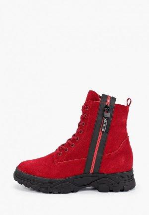 Ботинки Elche. Цвет: красный