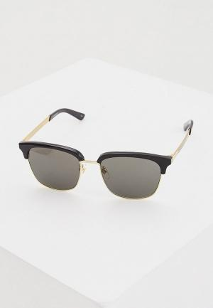 Очки солнцезащитные Gucci GG0697S 001. Цвет: черный