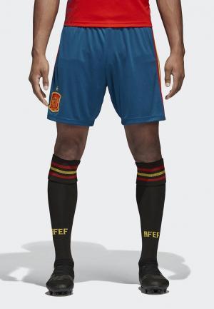 Шорты спортивные adidas FEF H SHO. Цвет: синий
