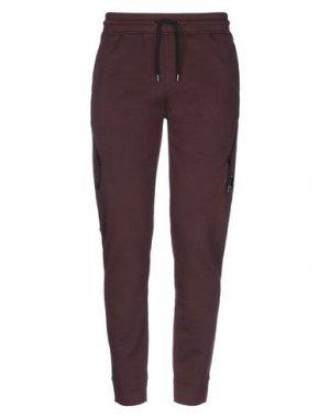 Повседневные брюки C.P. COMPANY. Цвет: красно-коричневый