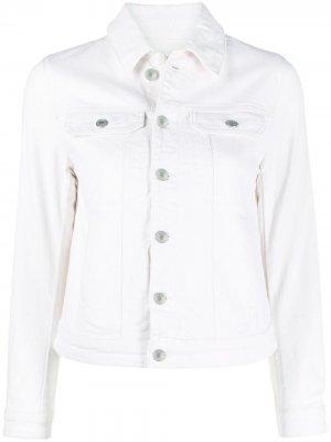 Джинсовая куртка Kioky Zadig&Voltaire. Цвет: нейтральные цвета