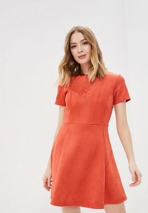 Платье Befree. Цвет: оранжевый