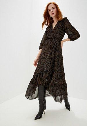 Платье Ba&Sh. Цвет: коричневый