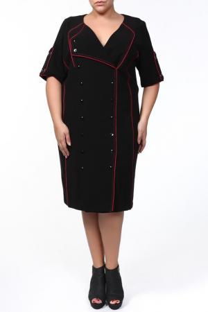 Платье Giani Forte. Цвет: черный