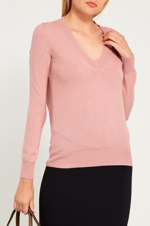 Розовый пуловер Gucci. Цвет: розовый