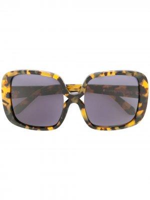 Солнцезащитные очки Marques Karen Walker. Цвет: коричневый