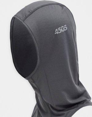 Однотонная балаклава -Черный ASOS 4505