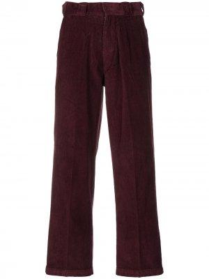 Вельветовые брюки прямого кроя DICKIES. Цвет: фиолетовый