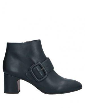 Полусапоги и высокие ботинки CHIE MIHARA. Цвет: темно-синий