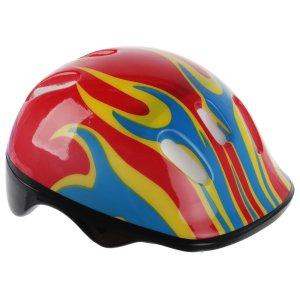 Шлем защитный детский ot-h6, размер m (55-58 см), цвет красный ONLITOP