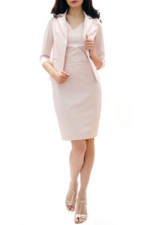 Платье RADEKS. Цвет: розовый