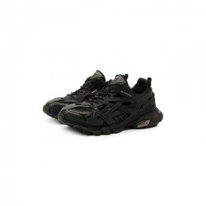 Комбинированные кроссовки Track 2.0 Balenciaga. Цвет: чёрный