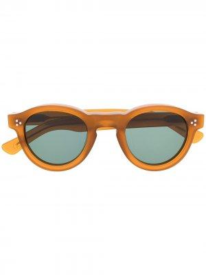 Солнцезащитные очки Gaston Lesca. Цвет: коричневый