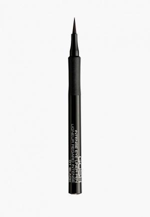 Подводка для глаз Gosh фломастер 01 черный. Цвет: прозрачный