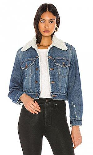 Джинсовая куртка madison PISTOLA. Цвет: синий