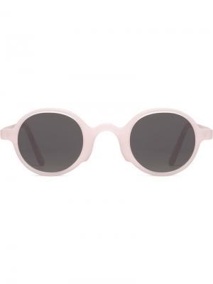 Плоские солнцезащитные очки George с матовыми линзами L.G.R. Цвет: розовый