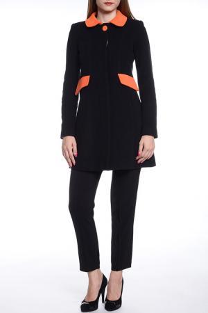 Пальто Collezione di Ines. Цвет: черный