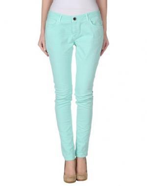 Джинсовые брюки DEPT DENIM DEPARTMENT. Цвет: бирюзовый