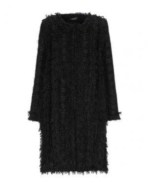 Легкое пальто ALESSANDRO LEGORA. Цвет: черный