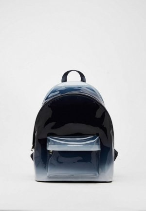 Рюкзак Bershka. Цвет: синий
