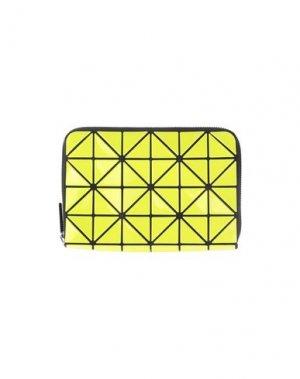 Бумажник BAO ISSEY MIYAKE. Цвет: желтый