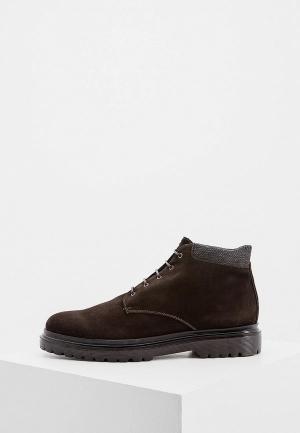Ботинки Guardiani. Цвет: коричневый