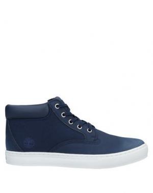 Высокие кеды и кроссовки TIMBERLAND. Цвет: синий