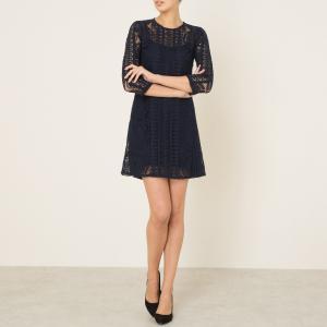 Платье ESTHEE BA&SH. Цвет: темно-синий