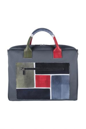 Дорожная сумка Astore. Цвет: серый, зеленый