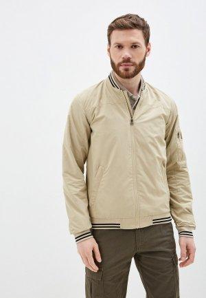Куртка Outventure. Цвет: бежевый