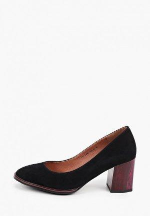 Туфли Francesco Donni. Цвет: черный