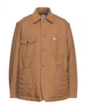 Куртка LEE. Цвет: верблюжий