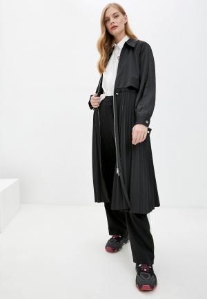 Плащ Karl Lagerfeld. Цвет: черный