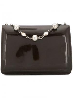 Сумка-кошелек на цепочке 1960-х годов Pierre Cardin Pre-Owned. Цвет: коричневый