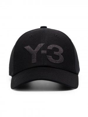 Бейсболка с логотипом Y-3. Цвет: черный