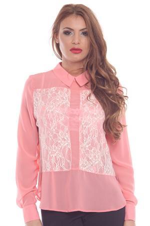 Блузка Collezione di Ines. Цвет: розовый