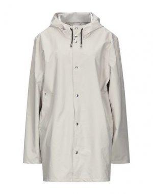 Легкое пальто STUTTERHEIM. Цвет: светло-серый