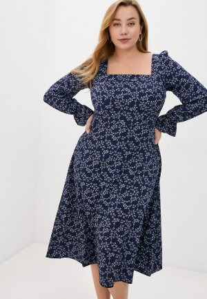 Платье Lacy. Цвет: разноцветный