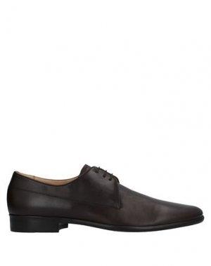 Обувь на шнурках AQUASCUTUM. Цвет: темно-коричневый