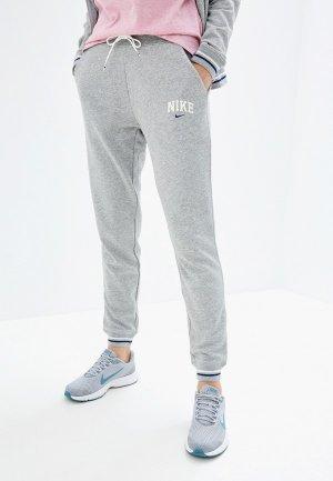 Брюки спортивные Nike SPORTSWEAR WOMENS FLEECE JOGGERS. Цвет: серый
