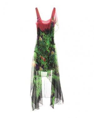 Платье до колена 22 MAGGIO by MARIA GRAZIA SEVERI. Цвет: зеленый