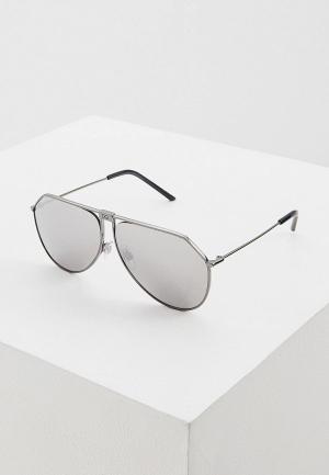 Очки солнцезащитные Dolce&Gabbana DG2248 04/6G. Цвет: серебряный