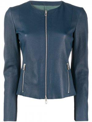 Куртка на молнии Drome. Цвет: синий