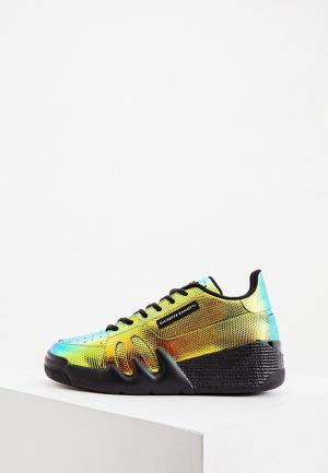 Кроссовки Giuseppe Zanotti. Цвет: разноцветный