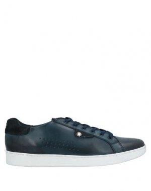 Кеды и кроссовки BASE London. Цвет: темно-синий